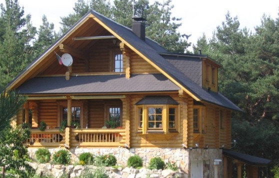 Хонка - Финландски къщи